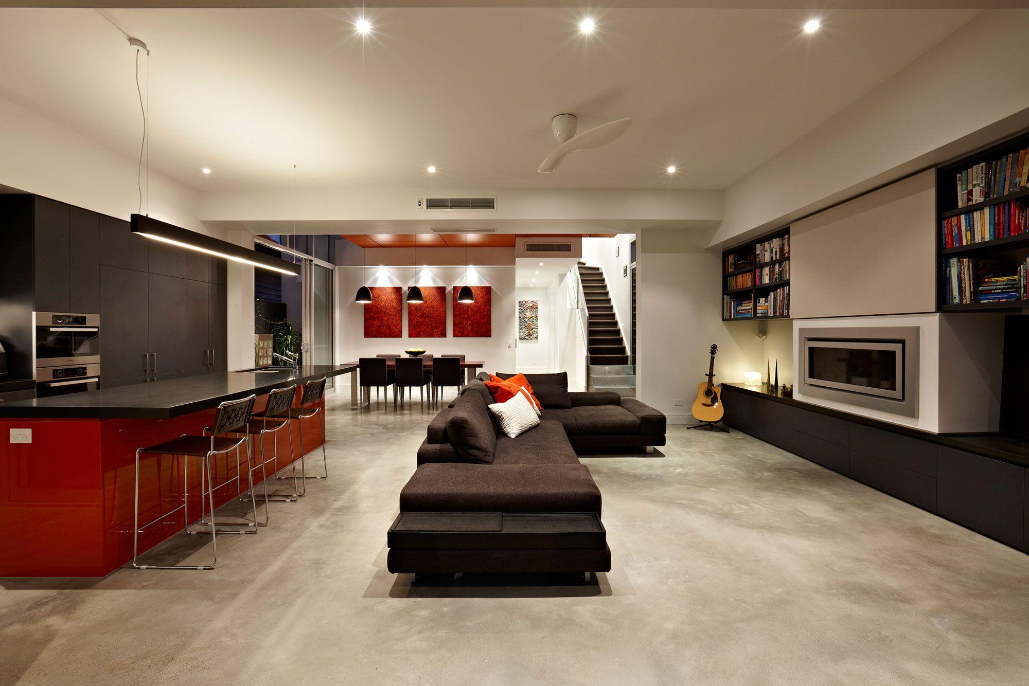 Diseño de casa moderna de dos plantas Planos   Construye ... on Interiores De Casas Modernas  id=46238