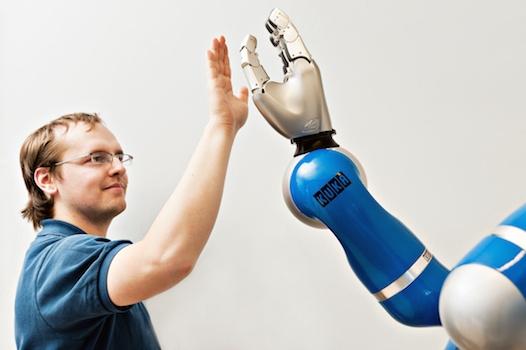 cobot e esseri umani interazione-possibile
