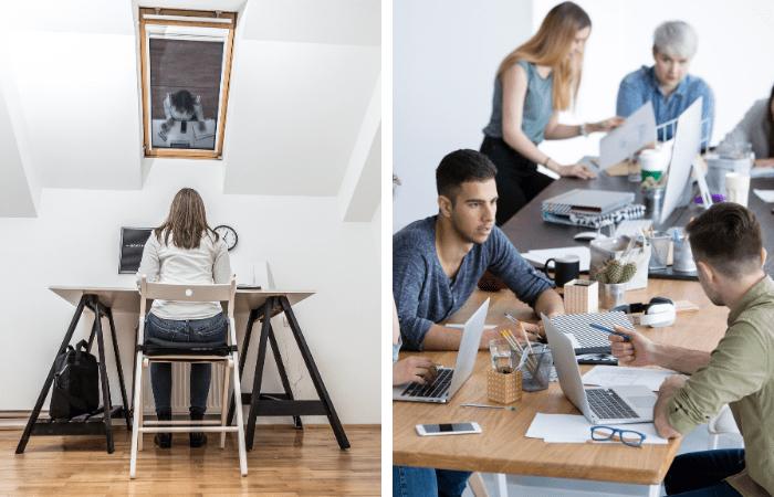 personalità e ambiante di lavoro