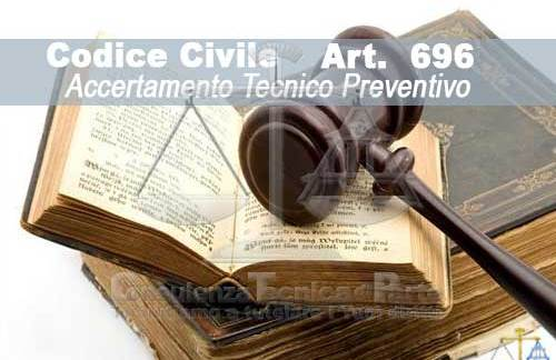Accertamenti Tecnici Preventivi ai sensi dell'Art. 696 e Art 696 bis due procedure a confronto