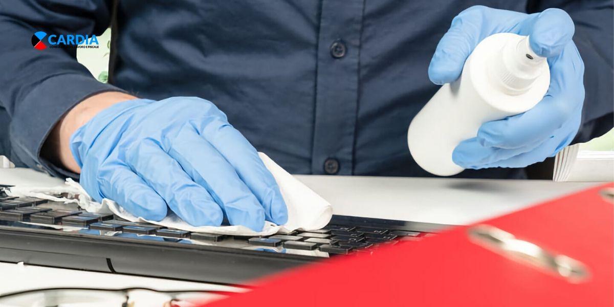 Come ottenere il credito d'imposta per le spese di sanificazione negli ambienti di lavoro