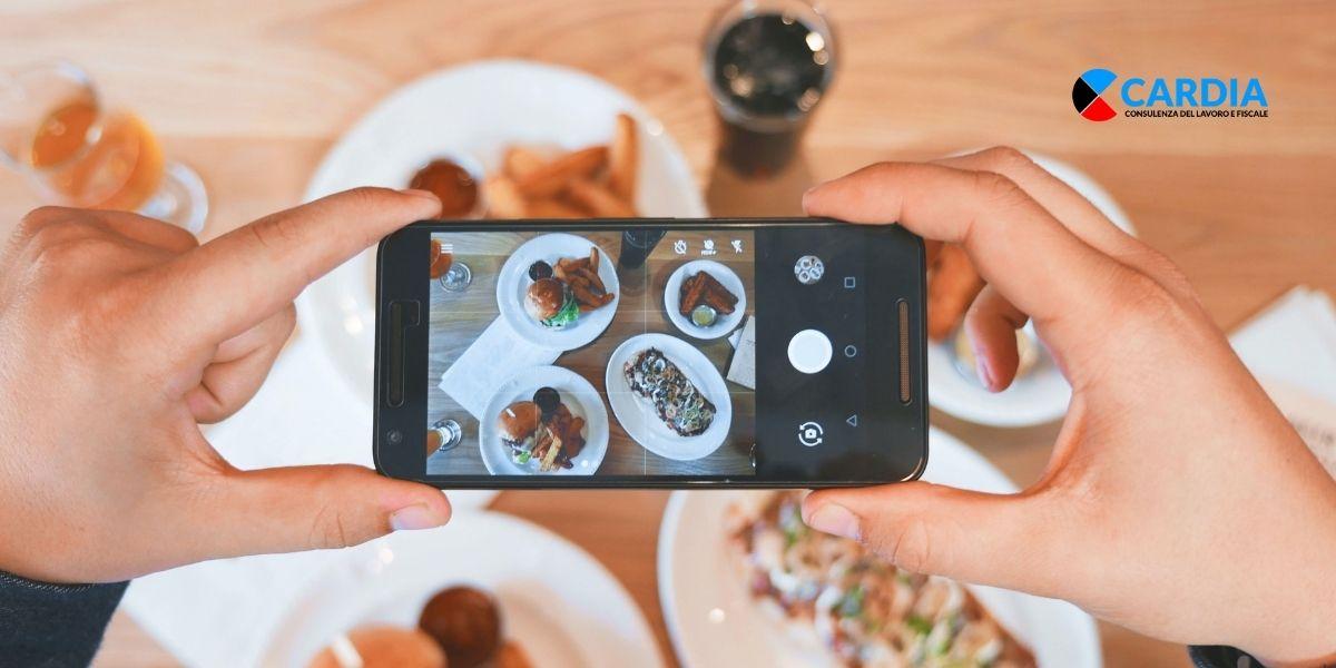 Social media marketing per ristoranti, pub e bar.