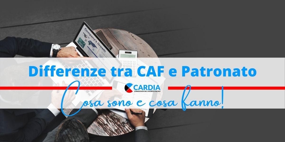 Differenze tra CAF e Patronato: cosa sono e cosa fanno!