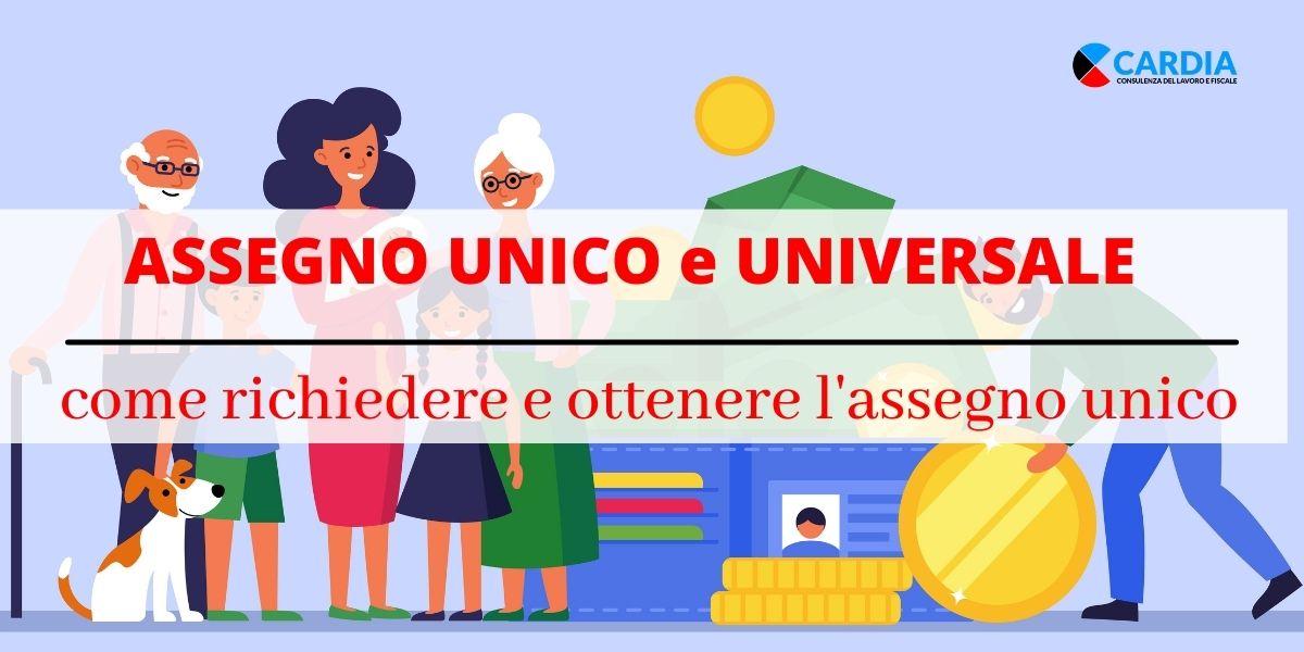 Assegno Unico  Universale. Come richiedere l'assegno unico!