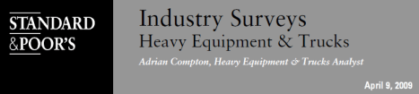 Industry Research - S&P Survey on Heavy Trucks - Consulting blog