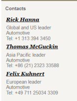 PWC CEO survey - Consulting blog contact names automotive