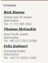 PWC CEO survey - Consulting blog contact names automotive