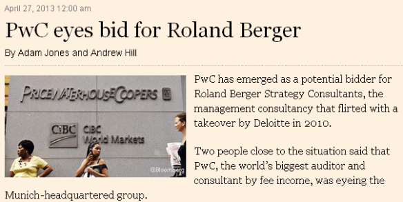 PWC Roland Berger