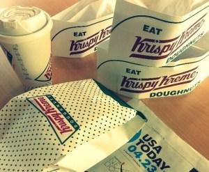 Krispy Kreme and Paper