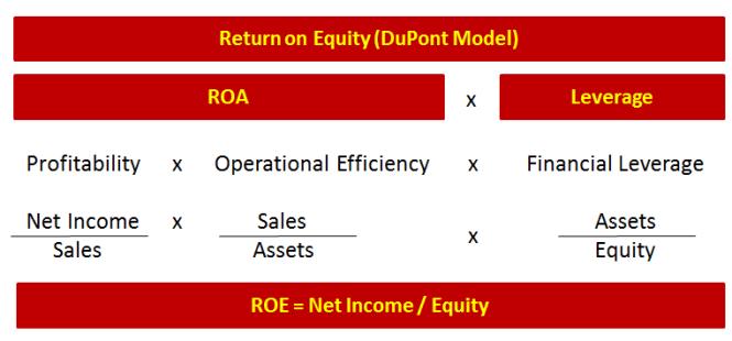 Consultantsmind DuPont Model ROE