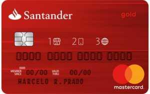 Cartão Santander 123 Gold