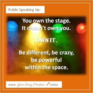 Pivotal Public Speaking Own the Stage