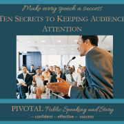 Ten secrets to keeping audience attention