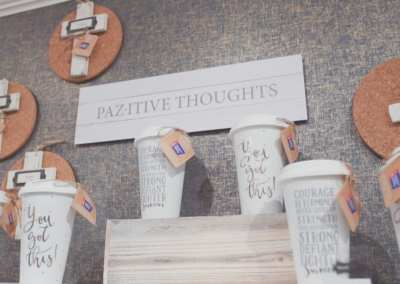 Product / Mud Pie / Pazitive Thoughts