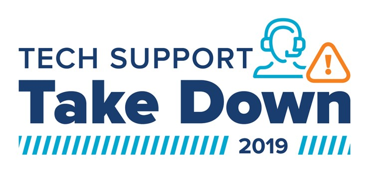 Tech Support Takedown 2019 | October 18, 2019