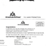 American Airlines says this is an example of a phishing letter using its logo.