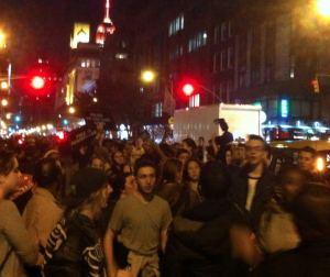 Garner Verdict Protest
