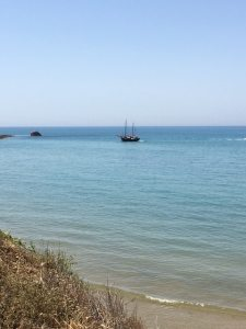 Boat at Realmonte, Agrigento, Sicily