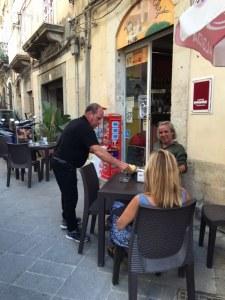 Cafe Guidecca, Ortigia, Sicily