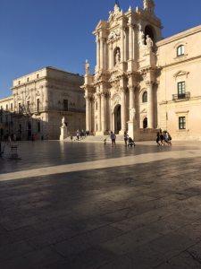Duomo and Piazza, Oritigia, Sicily