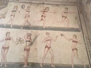 Female Athletes at Villa Romana del Casale
