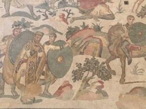 Hunt Mosiac Villa Romana del Casale, Sicily