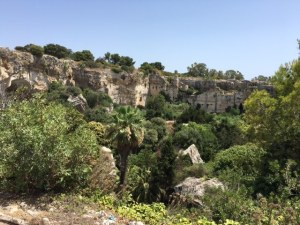 Marble Quarry, Siracusa, Sicily