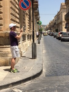 Nick Taylor in Noto