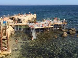 Swimming Platform, Ortigia, Sicily