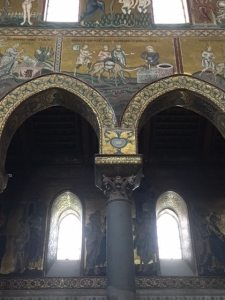 Detail Monreale Duomo Sicily