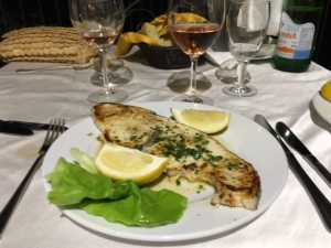 Grilled Swordfish La Terraza Scopella Sicily