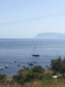 View of Golfo di Castellammare