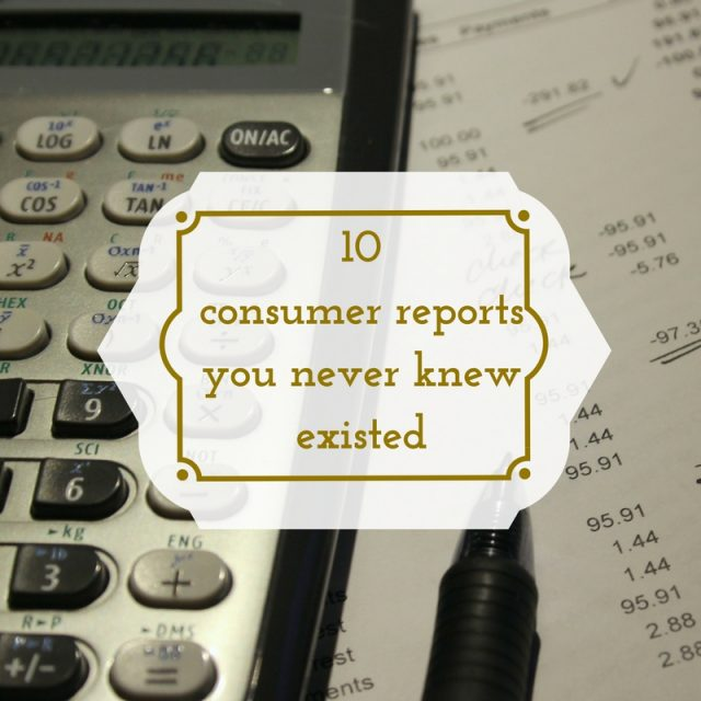 Consumer credit reports to request