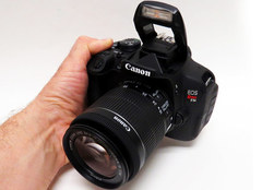First look  Canon EOS Rebel T5i offers smart design and lots of features I ve recently spent some time with the new 18 megapixel Canon EOS Rebel T5i  with the 18 55mm kit