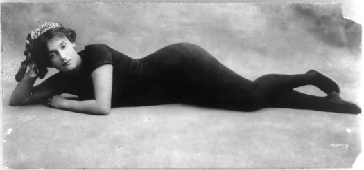 Australian swim champion, Annette Kellerman, ca. 1911. Image courtesy of the George Grantham Bain Collection, Library of Congress.