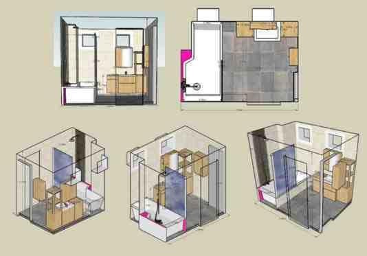 Renovation Salle De Bains De 5m Sans Fournitures A Bievres 91570 Essonne Detail Et Devis Travaux
