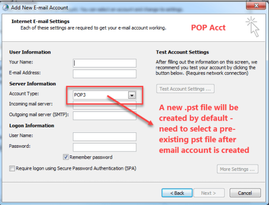 Understanding Outlook Email Account Configuration | Outlook Ins & Outs