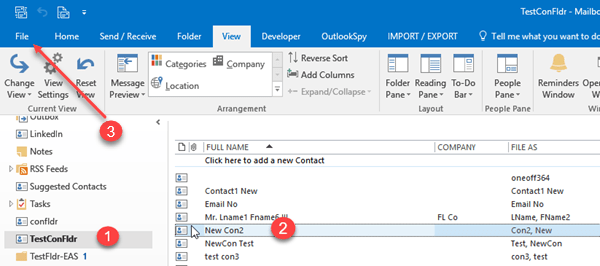 How to import/Export vcf files in Outlook | Outlook Ins & Outs