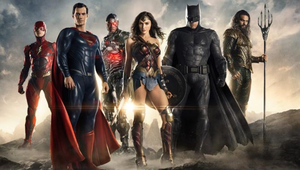 Image result for Justice League will also star Gal Gadot as Wonder Woman, Henry Cavill as Superman, Jason Momoa as Aquaman, Ray Fisher as Cyborg and Ezra Miller as The Flash.