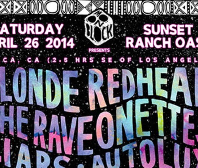 Desert Daze Festival 2014 Full Lineup Revealed Blonde Redhead The Raveonettes Vincent Gallo