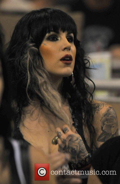 Kat Von D Picture - Tattoo Artist Kat Von D In The Audience.