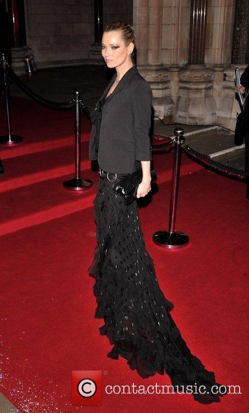 Kate Moss British Fashion Awards held at the Royal Courts of Justice.
