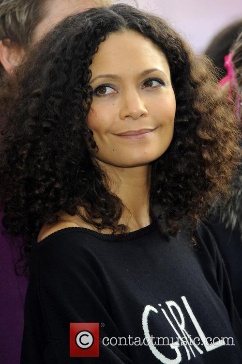 Thandie Newton - One Billion Rising flashmob in...