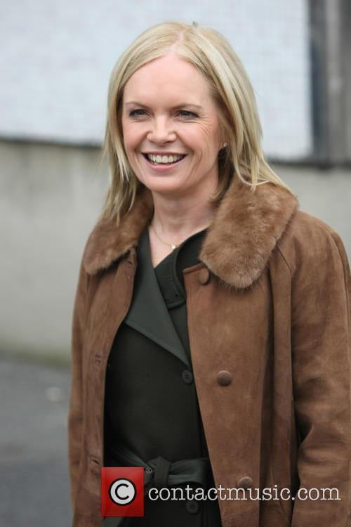 Mariella Frostrup - Celebrities at the ITV studios | 3 ...