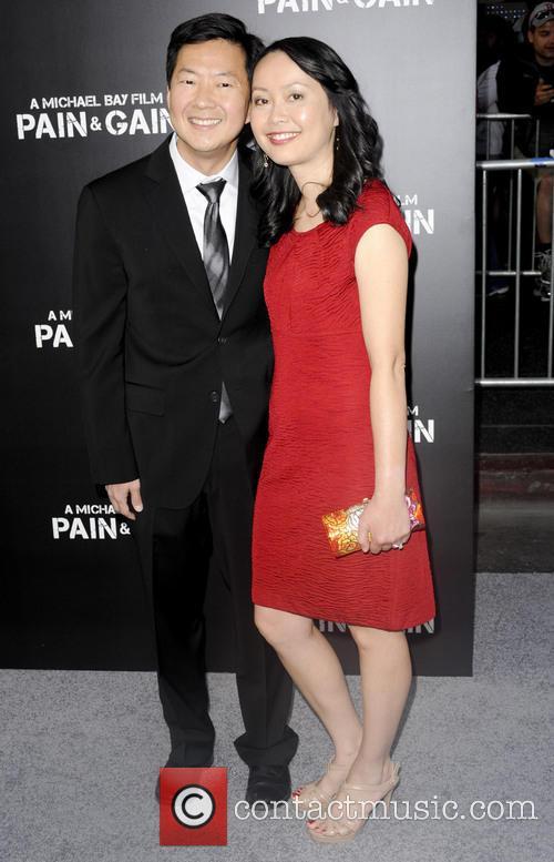 Ken Jeong LA Pain Amp Gain Premiere 5 Pictures