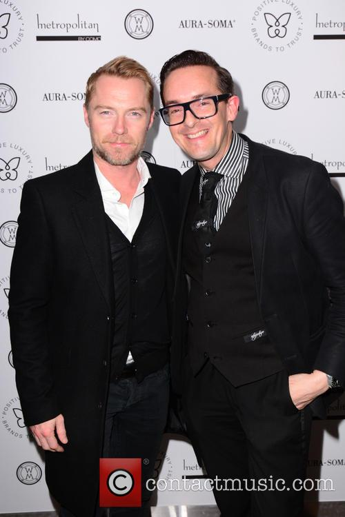 Ronan Keating and Darren Charman 1
