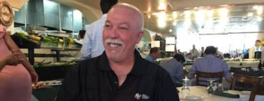 """Pablo Socorro, autor de """"Hablar en cubano""""."""