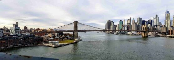 Manhattan Bridge - Vista desde pasarela peatonal