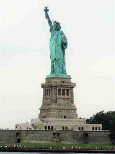 Estatua de la Libertad vista desde el Ferry
