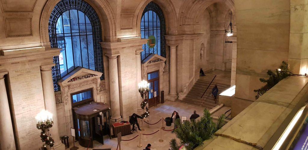 Astor Hall NYPL